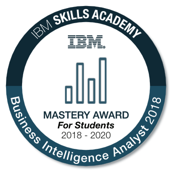 Business Intelligence Analyst - Mastery Award for Students 2018